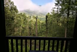 Waynesville Smokies Overlook Lodge Cabin - Good Morning