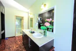 The bathroom features a shower, hair dryer and free toiletries (towels provided).