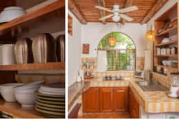 Villa Rio has a complete kitchen where you can prepare beautiful meals.