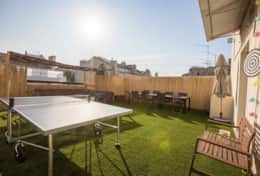 Rooftop avec table de ping-pong