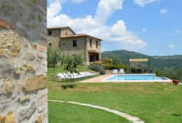 Villa Badia with private pool