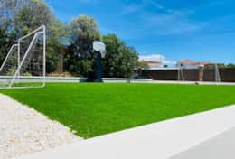 Private football field