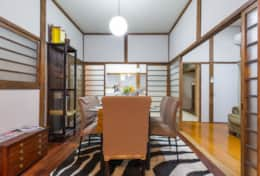 Dining space |Samurai House Tokyo Family Stays |Spacious