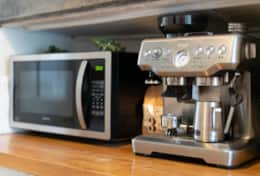 Kitchen, Microwave, Coffee Machine