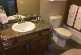 Mammoth Condo - Master Bathroom #2 (1st floor)