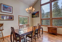 Range Road Retreat - Breckenridge Dining Room