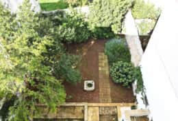 Palazzotto - view of the garden - Lucugnano di Tricase - Salento