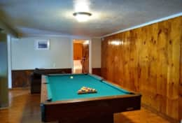 Gauley Getaway Pool Table
