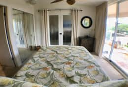 Bedroom with a/c and lanai access.