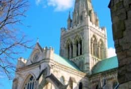 Chichester Cathedral 1000 years of history - 5 minutes away