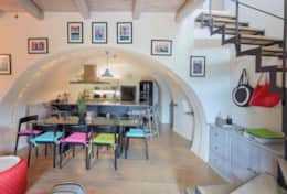 Ground floor kitchen area at Villa Silvignano