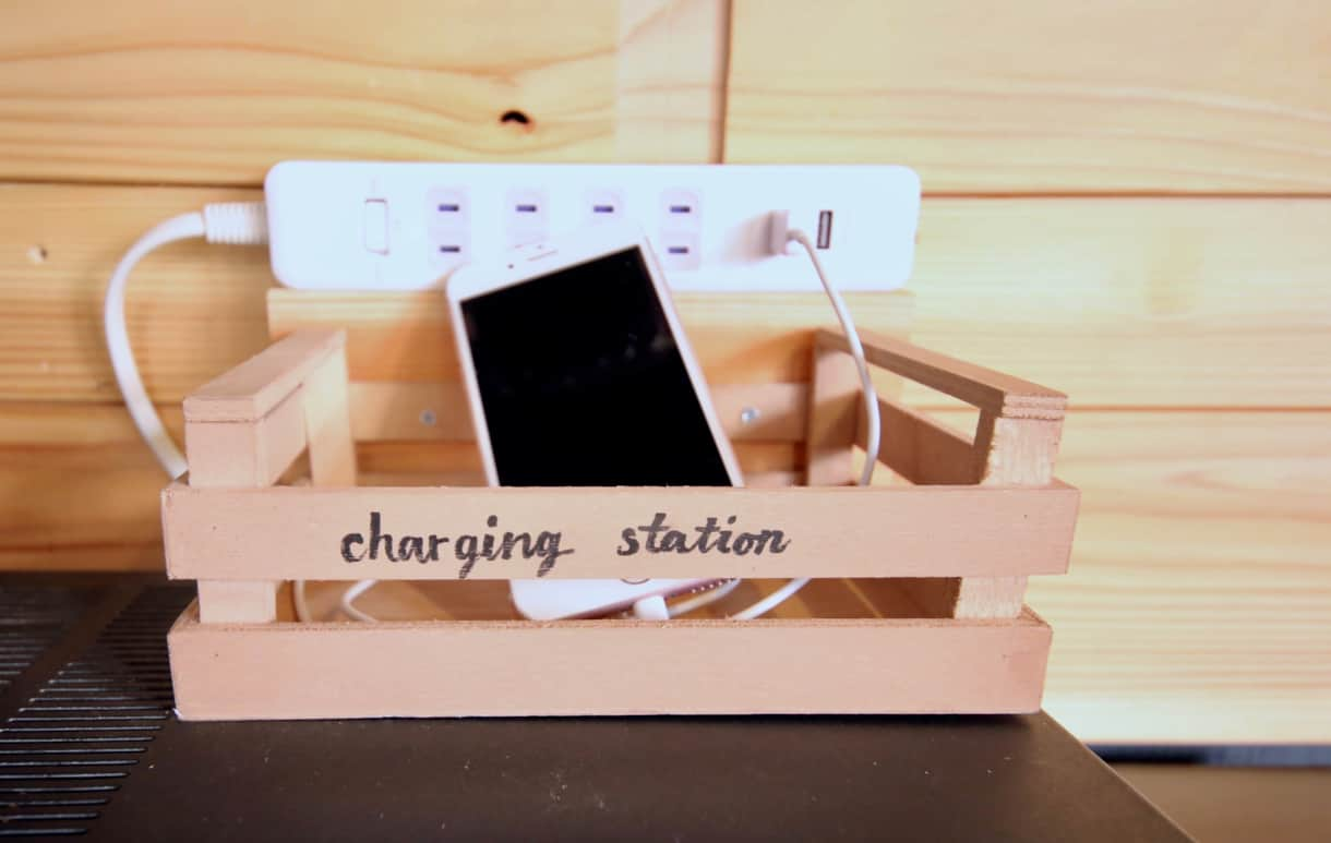 High-speed wifi and changing stations!