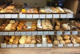 La Saison bakery - 2 minute walk. Open from 6:30 am