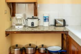 Villa 5 | Full Kitchen | Stocked Utensils & Appliances