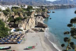 Plan some beach days on the Costa Tropical - it is less crowded than the other coast sides in Spain.