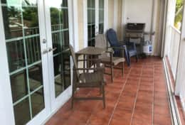 2nd Lanai With Chairs & Gas Grill