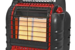 Portable Heaters to Rent - $15/stay incl. first LP canister