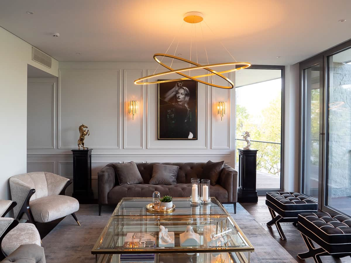 The-Klive-Riga-Luxurious-Living room- Nemo-design-lamps-