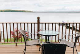 Beautiful Lake Views from your Deck