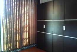 Nice wardrobes in the bedroom