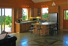 Complete Kitchen with All Amenites & Mt. Views