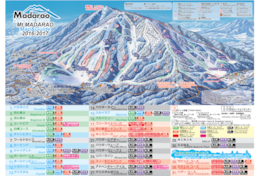 Mt Madarao-Madarao Mountain Resort Trail Map