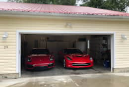 Guest cars in 2 car garage