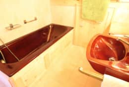 Main Chalet Bathroom in Bedroom One
