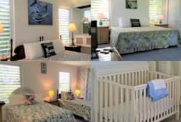 Beds and crib