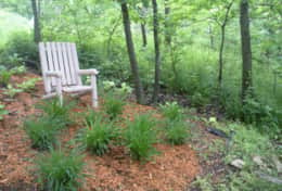 Garden 1, The Galena Log Home, Galena IL - Vacation Rental Home