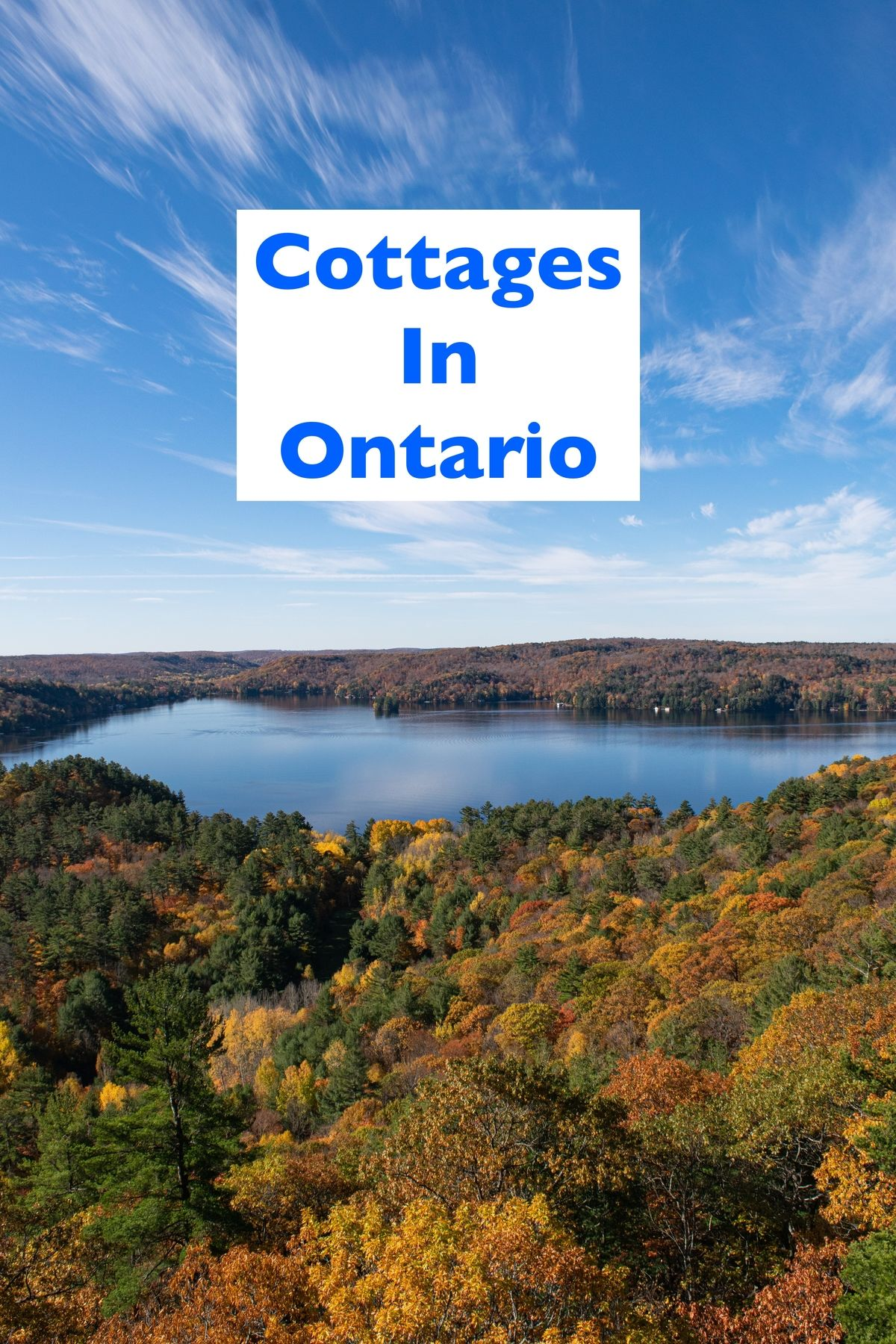 Cottages in Ontario