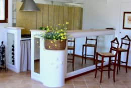 Villa Panicale common kitchen