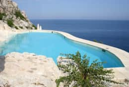 Il Faro - private pool overlooking the sea - Leuca - Salento