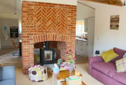 ...who could resist curling up in front of this on a chilly winters night??
