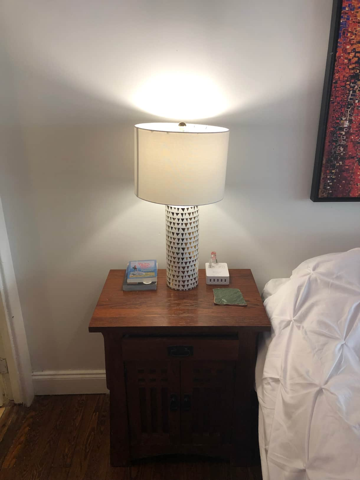 night stands with USB and outlets