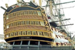 Lord Nelson's victory and the Mary Rose Exhibition - 25 minutes away