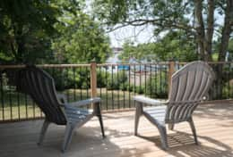 Back Deck, Bridge Street - Welcome to the Dans' vacation rental homes in Prince Edward County