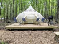 Hawaiian Luxury Tent #1 (Yurt-Style)
