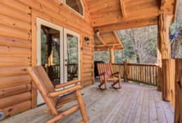 Hideaway at High Rock Cabin 11