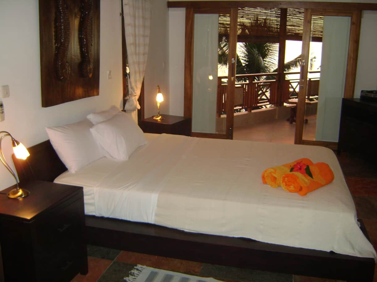 Spacious Airconditioned Bedrooms