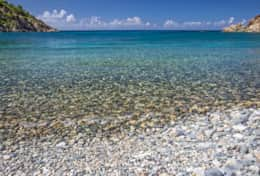 Kiddel Bay's crystal clear water ~ Some of St John's best snorkeling!