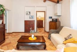 Villa La Ginestra, first floor living room