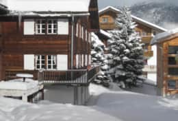 Side view of chalet 2009