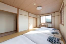 Nozawa Peaks quadruple room with private toilet