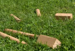 K45 Mackenzie Cottage – Games, books etc can be borrowed even Kubb a Swedish Viking Game