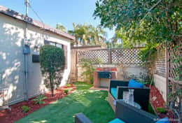 Your own Private and Secluded Yard with BBQ just for you and your family!