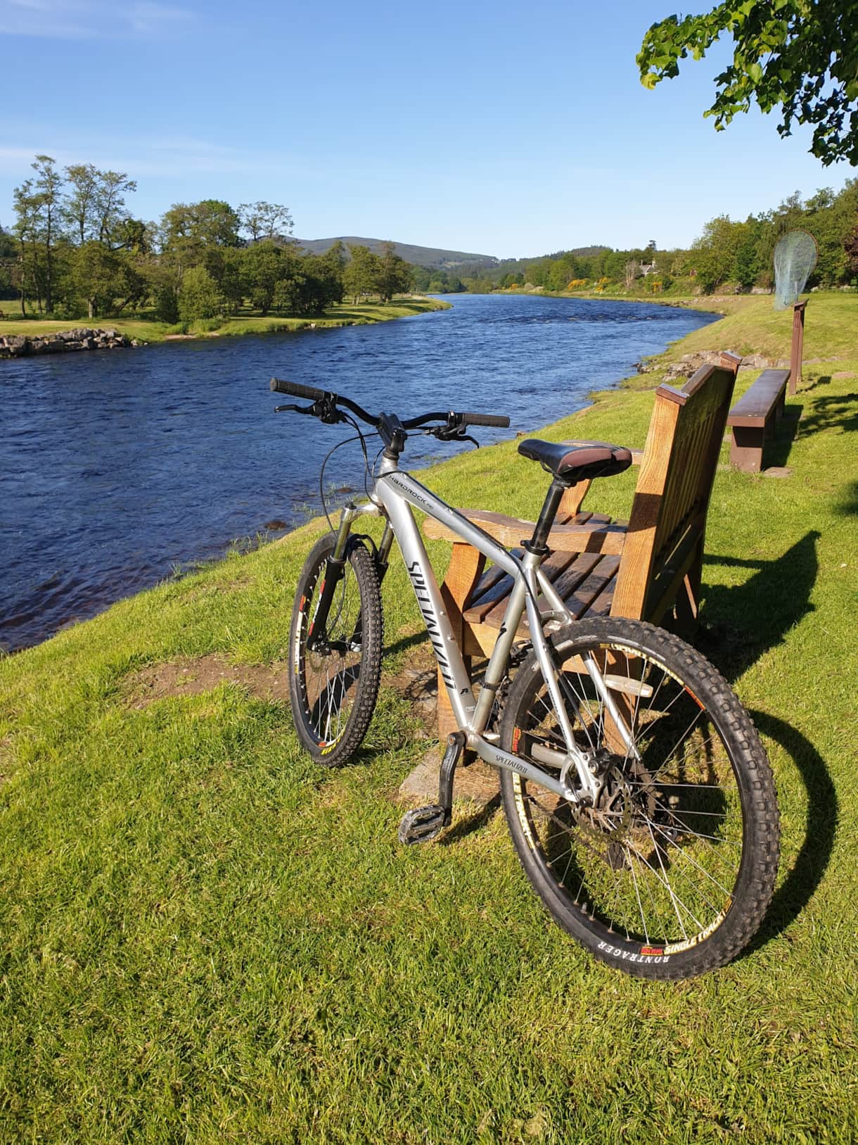 Take one of our 2 bikes available for a cycle down the Speyside Way