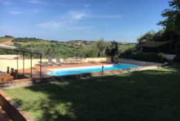 house for rent in Petriolo with beautiful views