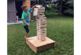 JENGA plus other outdoor games!