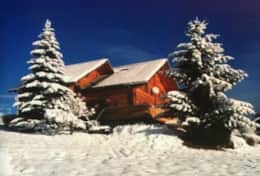 Snow Front Chalet Habere Poche